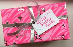 New in Box LUSH Snow Fairy Gift Set Ltd Edition Shower Gel 100g and Bath Bomb