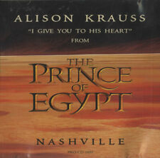 "Alison Krauss I Give To You His Heart USA CD single (CD5 / 5"") promo"