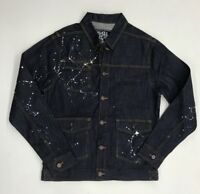Play Cloths Dark Denim Jacket Mens Sample Size Large Nice New Rare One Of One