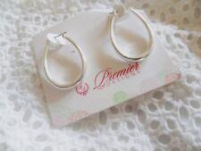 Premier Designs Jewelry Companions Earrings Silver    P0002