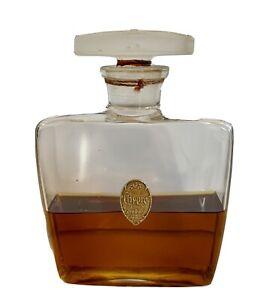 Vintage Chypre Perfume Cote D'ore Dragonfly Stopper Lalique Bottle