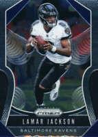 2019 Panini Prizm #71 Lamar Jackson Baltimore Ravens Football Card