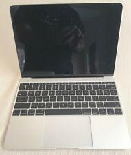 Apple MacBook 12'' Retina 256GB Silver Laptop - MLHA2LL/A (April, 2016) A1534