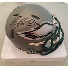 ed06b9759ef Corey Clement Autographed Philadelphia Eagles Blaze Mini Helmet PSA DNA COA  1