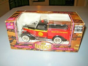 Shell Oil Company 1936 Dodge Panel Delivery Bank Liberty Classics by Spec Cast
