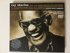 RAY CHARLES - GENIUS LOVES COMPANY -   CD with BONUS  DVD - NEW & SEALED