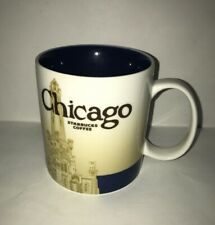Starbucks 2009 Chicago Global Icon Series Coffee Mug 16oz