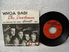 The Trashmen 45 PS Whoa Dad / Walkin My Baby 1964 MN Rare Garage Surf Orig!