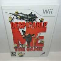 Despicable Me: The Game (Nintendo Wii, 2010) Complete Tested & Working