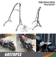 Burly moto bar dossier pour Harley Sportster XL Iron Nightster 883 1200