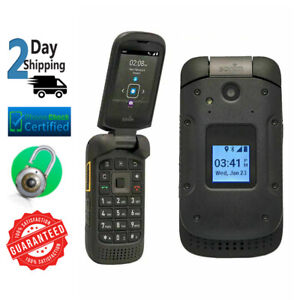 Sonim XP3 XP3800 4G LTE 8GB Rugged Verizon + GSM Unlocked Black Flip Phone