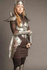 "Medieval Lady Larp Half Armor  Elf ""Princess of the war"" Armor Women Costume"