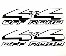 4X4 OFF ROAD DECAL STICKER 4WD TRUCK BED FORD F-150 RANGER SUPER DUTY CHEVY F250