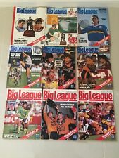 THE BIG LEAGUE Magazine Rugby League 1987 & 1988 NRL / ARL / NSWRL