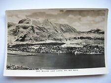Fort William, Loch Linnhe & Ben Nevis.
