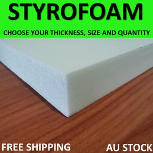 Styrofoam sheets XPS polystyrene Extruded foam blocks boards Foam Craft HO Scale