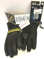 $150 Burton Yeti Leather Mens Black Gore-Tex Gloves NWT Size S Snowboard Ski