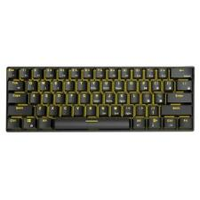 RK61 Wireless Bluetooth Wired Mechanical Backlight Gaming Keyboard (Black) SS6