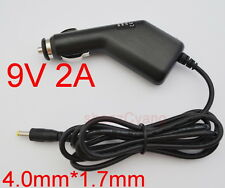 9V 1.5A/ 2A car charger Power adapter Cigarette Lighter DC 4.0mm × 1.7mm 2000mA