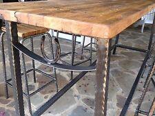 Hand Made Rustic Bar Stool Set