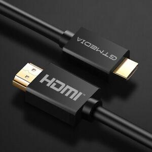 GTMEDIA Premium 4K Cable HDMI chapado en oro de 2.0 de alta velocidad 1/1.5/2/3M