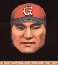 1948 Japanese Baseball Large Diecut Mask Menko JDM2 Tetsuharu Kawakami HOF
