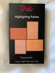 Sleek MakeUp Copperplate Highlighting Palette. New