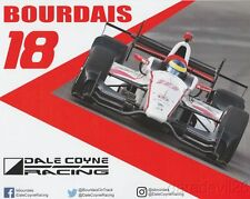2017 Sebastien Bourdais Dale Coyne Racing Honda Dallara Indy Car postcard