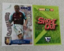 SHOOT OUT CARD 2003/04 (03/04) - Green Back - Aston Villa - Olof Mellberg