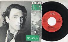 RICCARDO FOGLI  disco 45 giri MADE in ITALY Non finisce così SANREMO 1989
