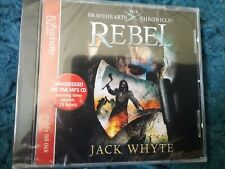the braveheart chronicles rebel jack whyte audio cd freepost read by bill dick