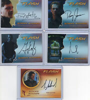 The Flash  -  Autograph Prop & Wardrobe Card Selection NM Cryptozoic