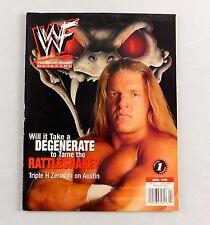 HHH Triple H April 1999 Degeneration X Wrestling Magazine Raw WWE WWF