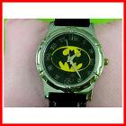 NEW Batman Logo Child Kids Boy Man Black Quartz Fashion Wrist Watch Wristwatch