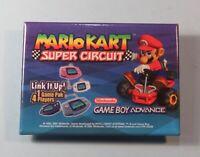 2001 Nintendo Employee Pin Badge Promo Button Mario Kart Super Circuit Game Boy