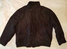 Croft&Barrow Men's PolyFilled Black Front Zipped Winter Jacket XL
