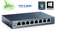 Netzwerk Switch EASY SMART 8 Ports TP-Link TL-SG108E 10/100/1000Mbit LAN GIGABIT