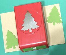 "EK Success LARGE CHRISTMAS TREE Punch 2.5"" Scrapbook Holidays Paper Crafts"