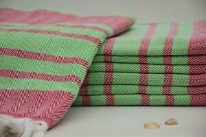 Hairdresser Towels,Turkish Towels,Berber Towels,Peshtemal Towel,Red Towel Mtn-25