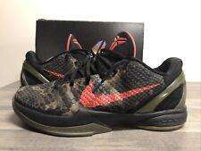 "Nike Zoom Kobe 6 VI ""Italian Camo"" 2011 size 12 429659-900 Replacement Box"