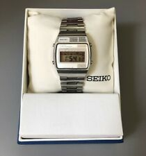 Seiko A159-4000 Rare Vintage Digital Watch 1978 Stainless Steel Working