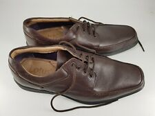 Lotus size 8 (41) brown leather lace up loafers smart formal work shoes