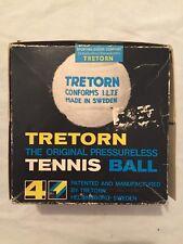 Vintage 1960s 70s Tretorn Original Pressureless Tennis Balls in Box