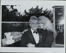 John Avildsen, Tracy Brooks Swope ORIGINAL PHOTO HOLLYWOOD Candid