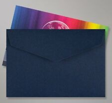 50 Navy Blue Mini Peel & Seal Envelopes 62 x 94mm - Ideal for Weddings