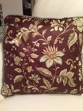 NWOT!!  Brown, Sage, and Teal Decorator Accent Pillow