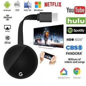 Chromecast G4 1080P HD WiFi Dongle TV Stick Airplay Chromecast HDMI Receiver UK