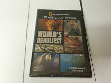 National Geographic Classic Collection: World's Deadliest UK REGION SEALED DVD