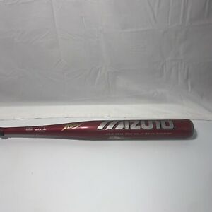 "Mizuno Techfire Red Fury Official Softball Bat 34""/28oz Model MZC-3,"