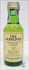 Miniature / Mignon Scotch Whisky THE GLENLIVET 12yo (e)